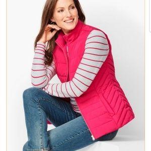 Talbots women  Down Puffer Vest jacket size S